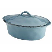 Cucina Stoneware 3.5 Qt. Oval Casserole