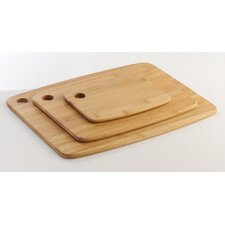 3 Piece Essentials Chopping Board Set