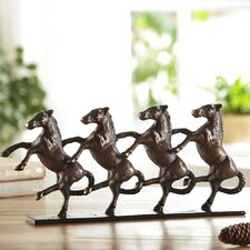 Dancing Horses on Parade Figurine