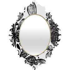 Julia Da Rocha Wild Leaves Baroque Mirror