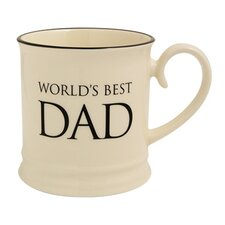 Quips and Quotes World's Best Dad Tankard Mug