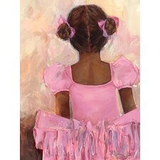 Alena Perfect Ballerina African American Canvas Art