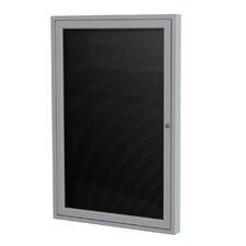 1-Door Aluminum Frame Enclosed Letter Board