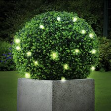 Pre-Lit Topiary Ball