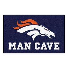 NFL - Denver Broncos Man Cave Indoor/Outdoor Area Rug