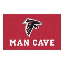 NFL - Atlanta Falcons Man Cave Indoor/Outdoor Area Rug