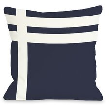 Three Lines Throw Pillow
