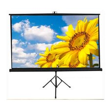 New Matte White Portable Projection Screen