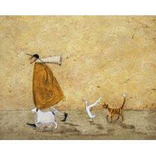 Leinwandbild Ernest, Doris Horace and Stripes von Sam Toft