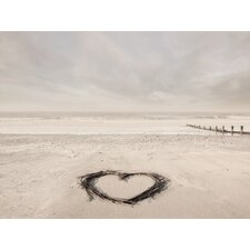 'Love Goes on Forever' by Ian Winstanley Framed Photographic Print on Canvas
