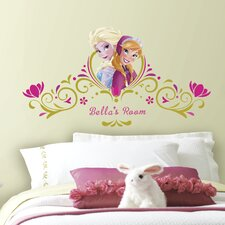 Popular Characters Frozen Spring Time Custom Wall Decal