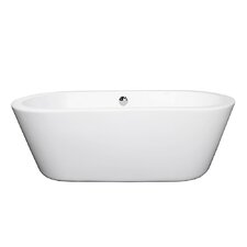 Mermaid 67 x 31 Soaking Bathtub by Wyndham Collection