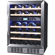 46 Bottle Dual Zone Convertible Wine Cooler