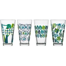 Tall Fantasy Juice Glass (Set of 4)