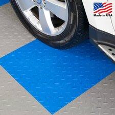 """12"""" x 12""""  Garage Flooring Tile in Royal Blue"""
