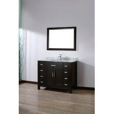 Celize 42 Single Bathroom Vanity Set with Mirror by Bauhaus Bath