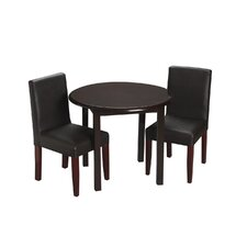 Children's 3 Piece Round Table and Chair Set