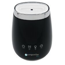 PureGuardian Deluxe Aromatherapy Essential Oil Diffuser with Touch Controls & Alarm Clock