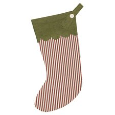 North Pole Drummer Drumming Christmas Stocking