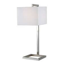 """4 Square 30"""" Arched Table Lamp"""
