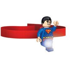 Lego DC Universe Super Hero Superman Head Lamp