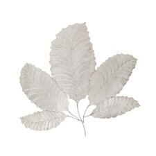 Stainless Steel Leaf Wall Decor