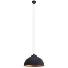 Hegarty 1 Light Bowl Pendant Light