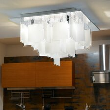 Condrada 5 Light Semi-Flush Ceiling Light