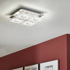 Roncato 4 Light Flush Ceiling Light