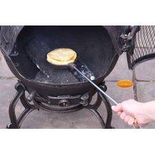 Cast Iron Pancake Pan with Long Handles