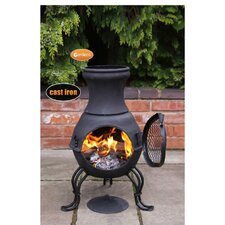 Billie Cast Iron Chiminea
