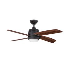 "44"" Ventura 2 4-Blade Ceiling Fan with Wall Remote"