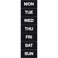 Days of The Week Magnetic Accessories