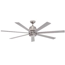 "60"" Climer 7 Blade Ceiling Fan with Wall Remote"