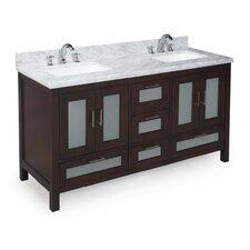Manhattan 60 Double Bathroom Vanity Set by Kitchen Bath Collection