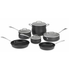 Nonstick Aluminum 10 Piece Cookware Set