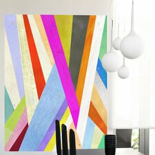 Diagonal Abstract Wall Mural