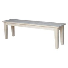 Redfield Wood Dining Bench