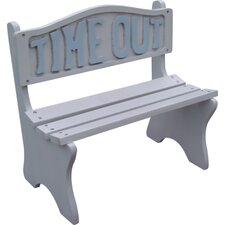 Time Out Wooden Bench by DC America