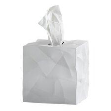 Arellano Crinkle Square Tissue Box Cover