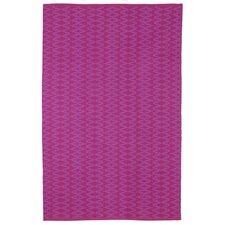 Zen Marga Cotton Very Berry/Violet Area Rug