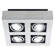 Loke 4 Light Ceiling Spotlight