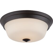 Calvin 2-Light Flush Mount