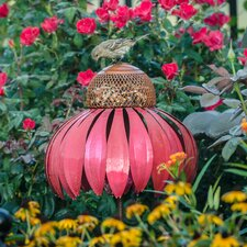 Coneflower Decorative Bird Feeder