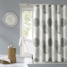 Burgess Microfiber Shower Curtain