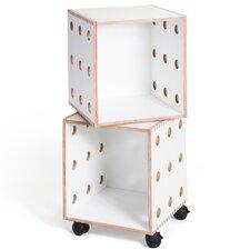"Perf 33"" Cube Unit Bookcase"