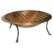 Royale Copper Wood Burning Fire Pit