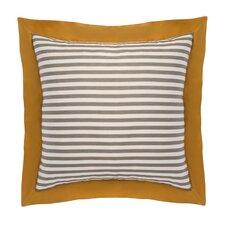 Draper Stripe Ash Euro Sham (Set of 2)