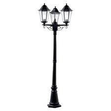 3 Light 195cm Post Lantern Set