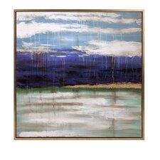 Transcendence Framed Oil Painting Print